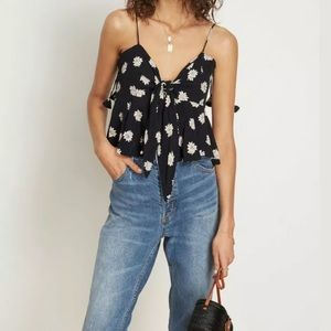 Anthropologie faithful the brand  pina colada top